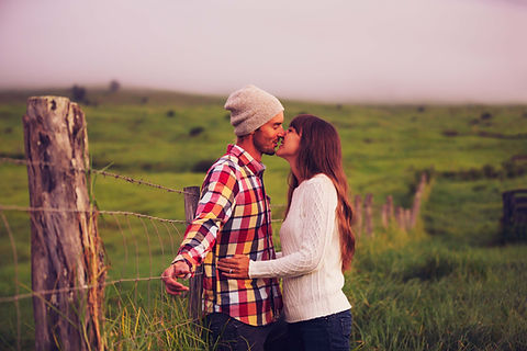 Countryside Kiss