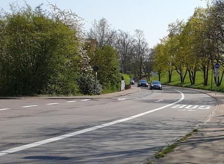 Optimierungsarbeiten in der Rotenackerstraße