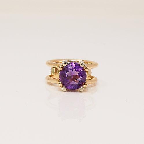 Wong Ken's Amethyst Ring