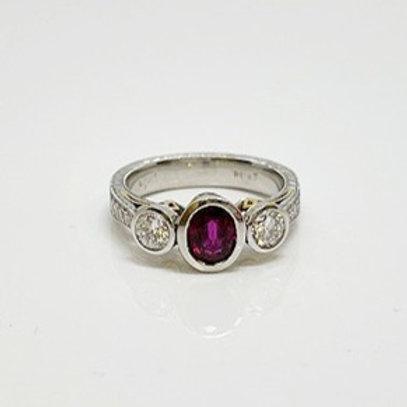 Wong Ken's Lady's Engagement Ring