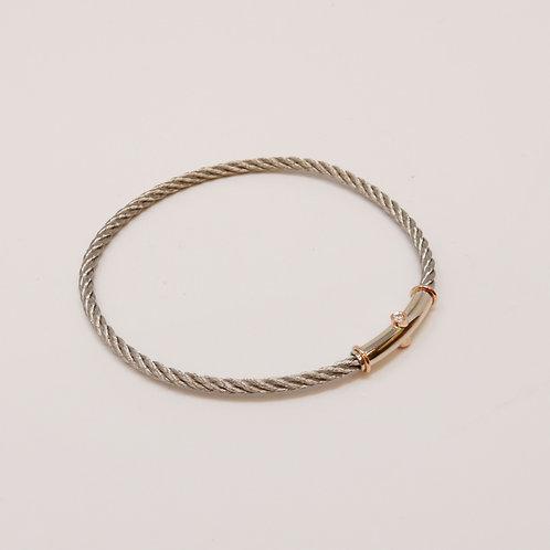 Wong Ken's Signature Lady's Cable Bracelet