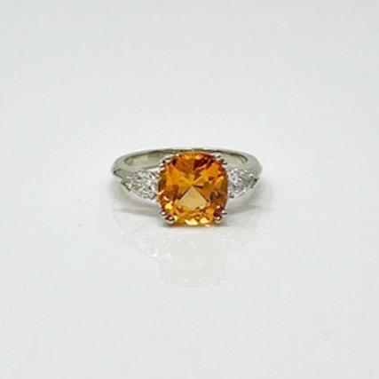 Wong Ken's Lady's Spessartite Garnet Ring