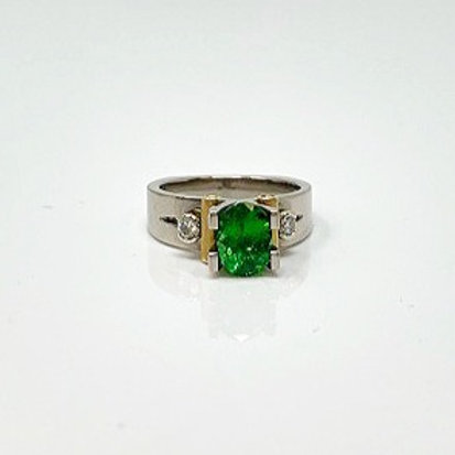 Wong Ken's Lady's Tsavorite Garnet Ring