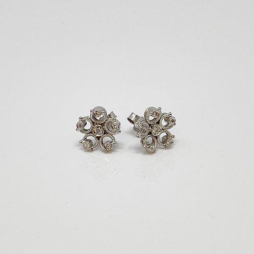 Aegean Style Stud Earrings
