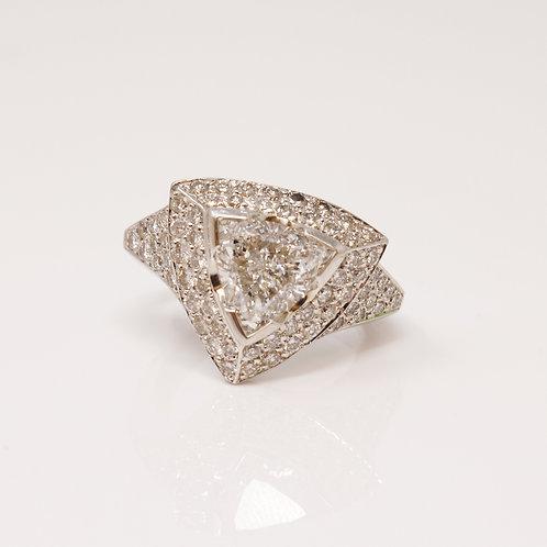 Trilliant Cut Diamond Ring