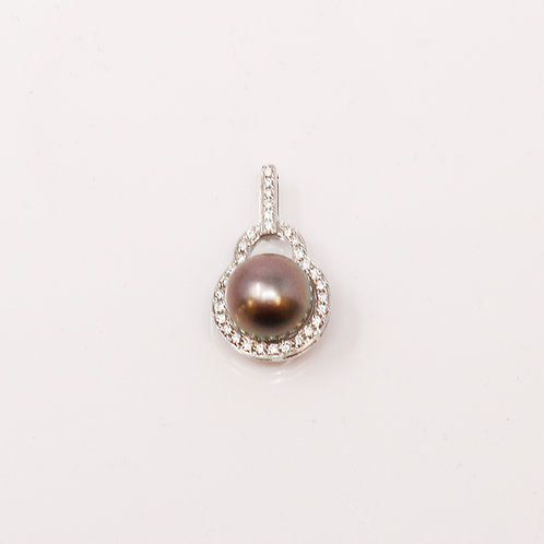 Wong Ken's Custom Tahitian Pearl Pendant