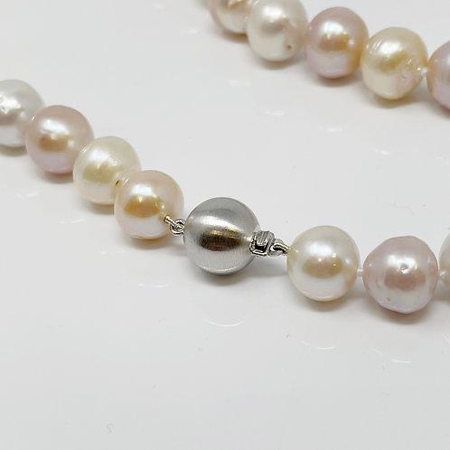 Multi-Coloured Kasumiga Pearl Necklace