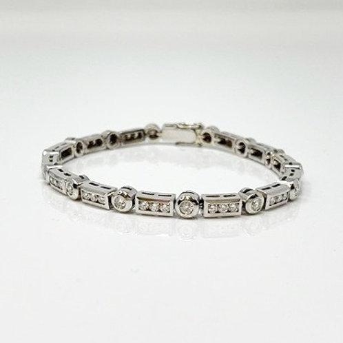 Lady's Diamond Tennis Bracelet