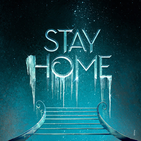 STAY HOME - FROZEN