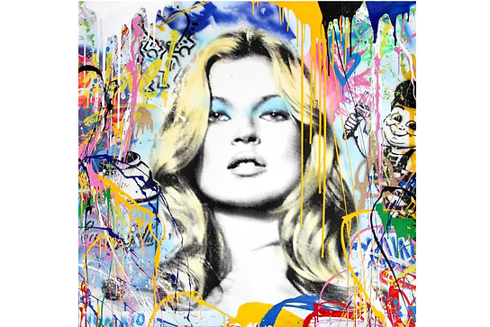 Mr.Brainwash「Kate Moss」