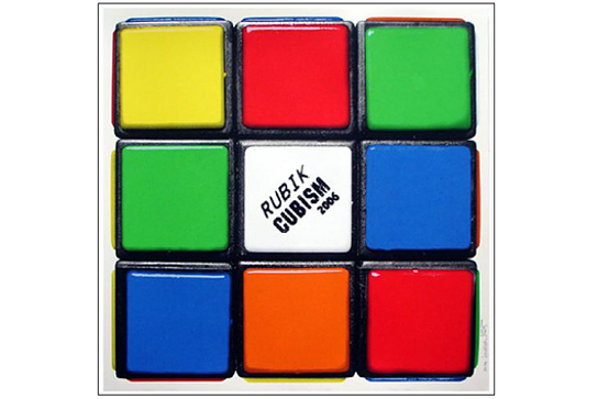 Invader「Rubik Cubisum(First Edition)」