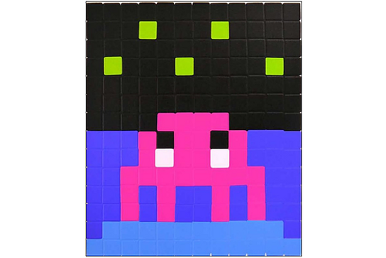 Invader「Space One(Pink)」