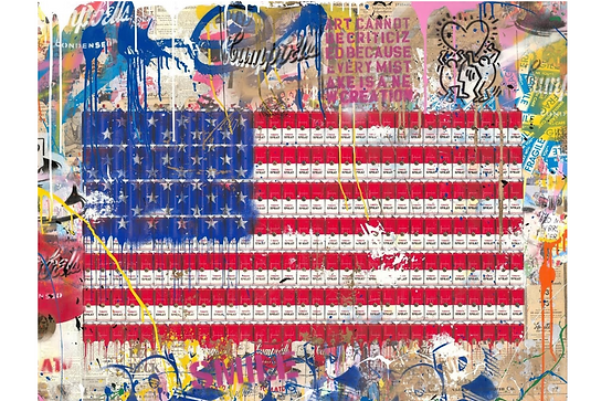 Mr.Brainwash「AmeriCan Dream」