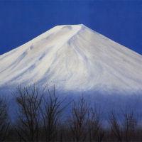 黎明の富士  平山郁夫