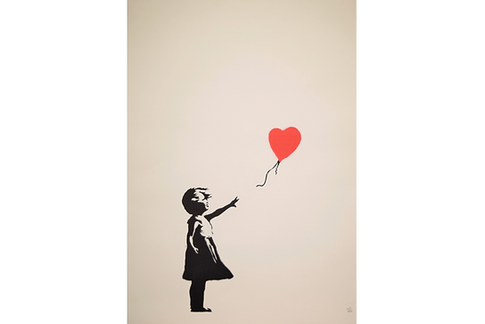 「Girl with Balloon」