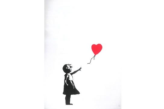 バンクシー「Girl with Balloon」