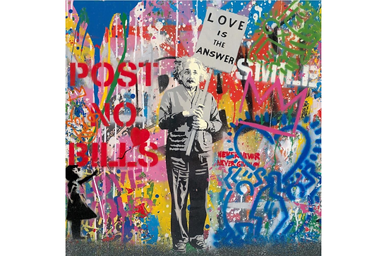 Mr.Brainwash「Einstein」