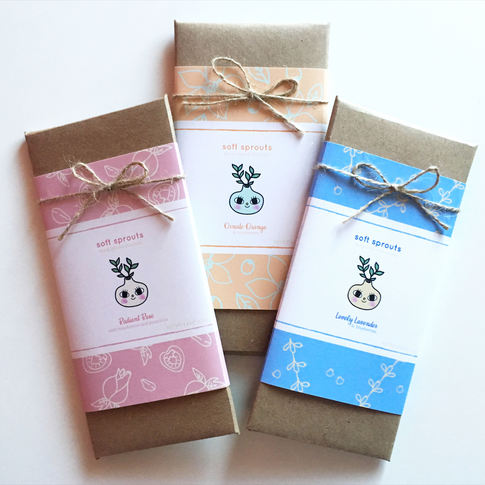 Soft Sprouts Chocolate Packaging