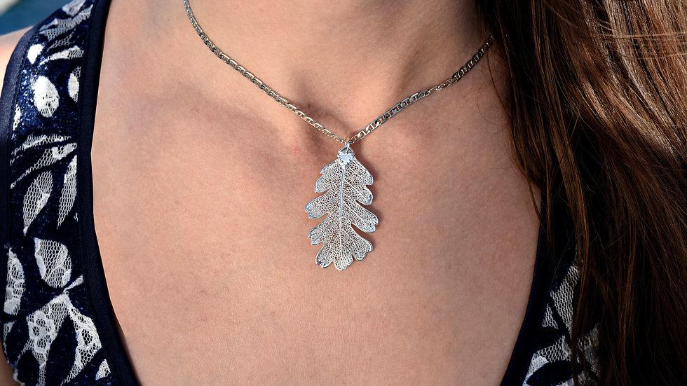 Oak Leaf Sterling Silver