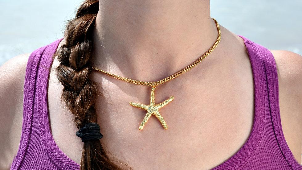 Large Starfish 24k