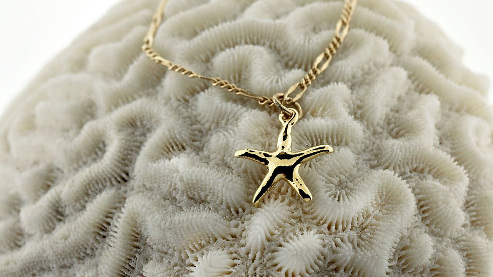 Small Starfish 24k