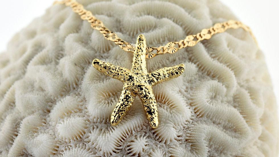 Medium Starfish 24k