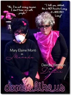 Dames Like Us dialogue - ME Monti as Marsha _ D Brennan as Dottie BORD.jpg