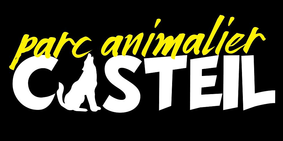 ENTREE AU PARC ANIMALIER DE CASTEIL