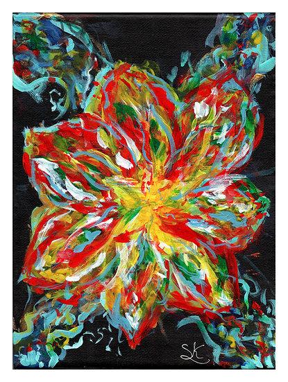 Flower Nebula Acrylic