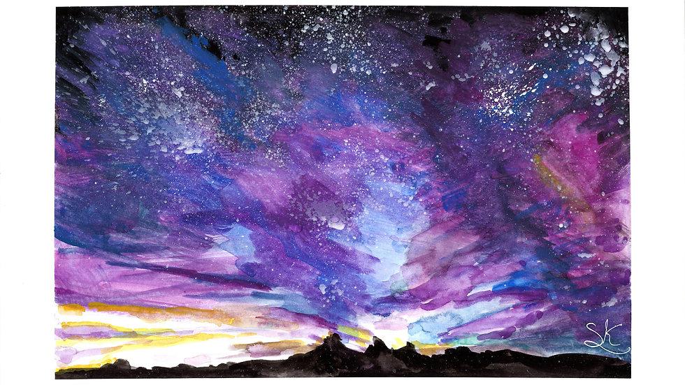 Night Sky Original Painting