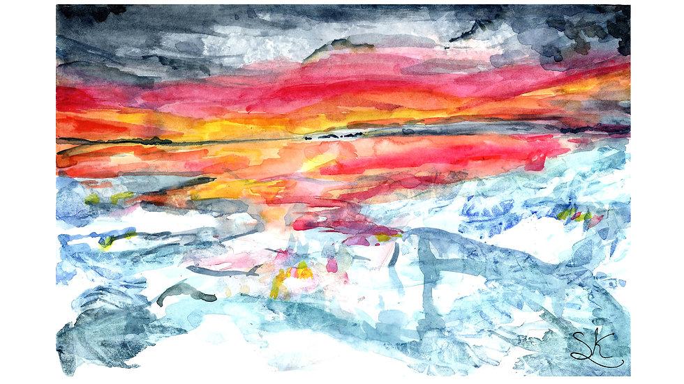 Icescape print