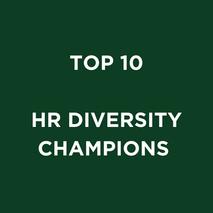 TOP 10 HR DIVERSITY CHAMPIONS