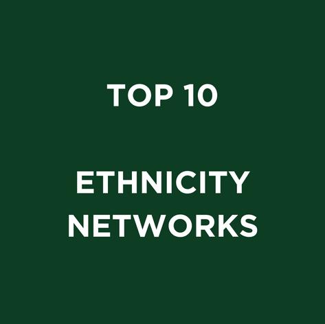 TOP 10 ETHNICITY NETWORKS