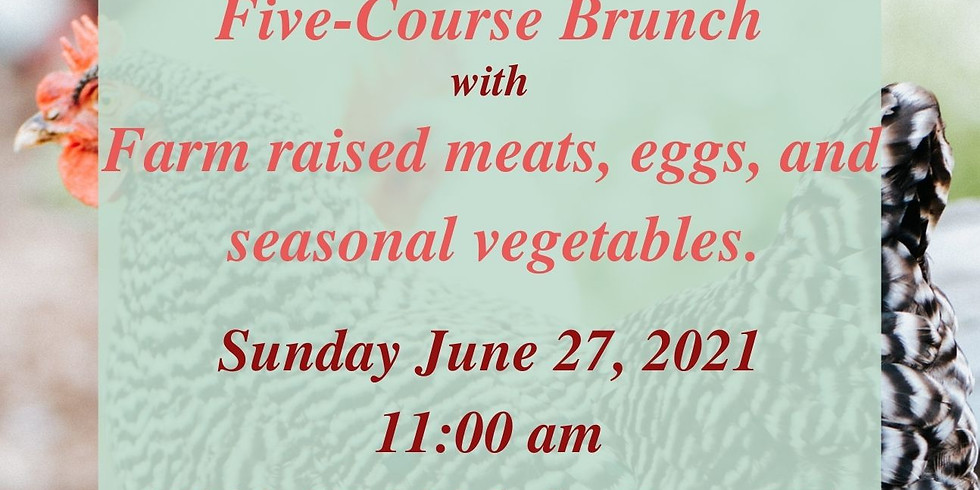 Farm to Table Mediterranean Inspired Five-Course Brunch