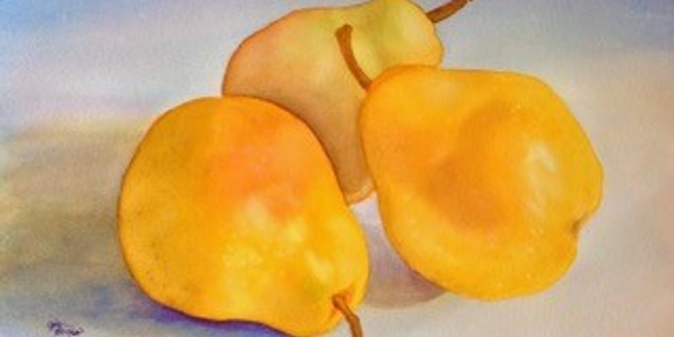 Workshop Painting Pears!!!