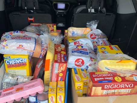 Feeding Families 4/25/20 ! Thanks to all my donors!