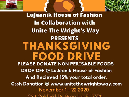 Thanksgiving Food Drive!