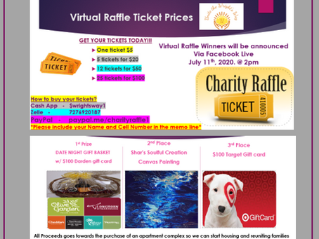 Charity Raffle get your tickets today!!