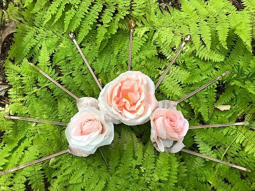 Rose & Rhinestone Crown