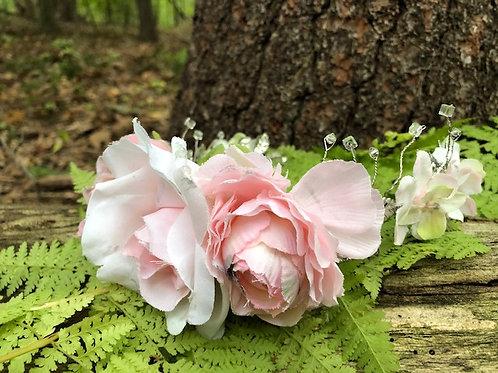 Pink Petal Flower Crown