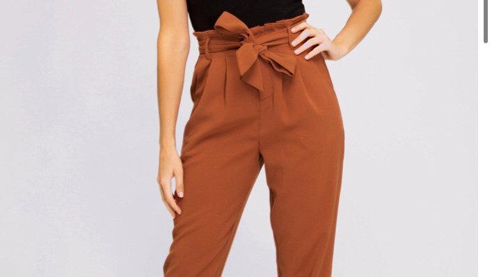 Rust High waisted Pants