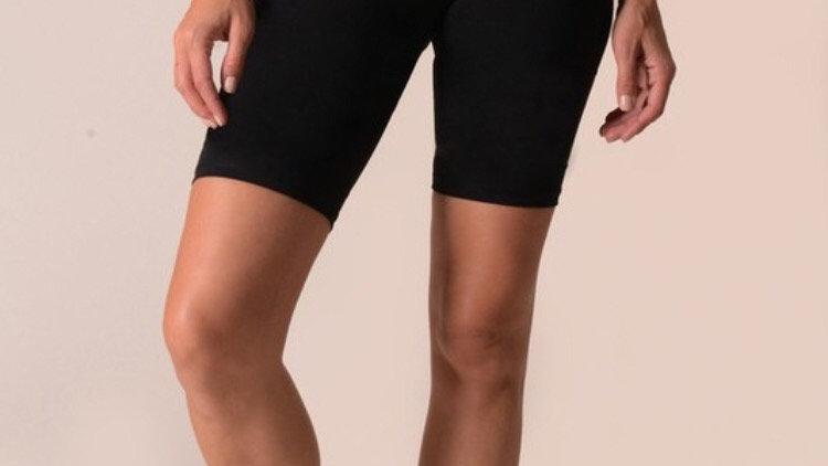 Black workout shorts