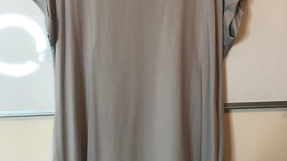Silver pocketed dress