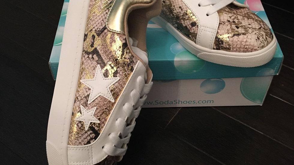 Multi python sneakers