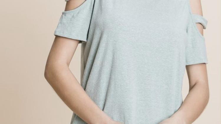 Mint cold shoulder