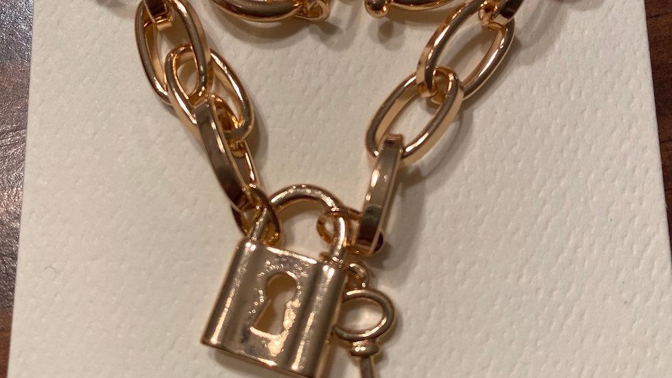 Good lock & key bracelet