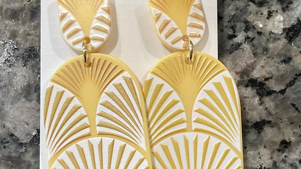 Rays of sunshine earrings
