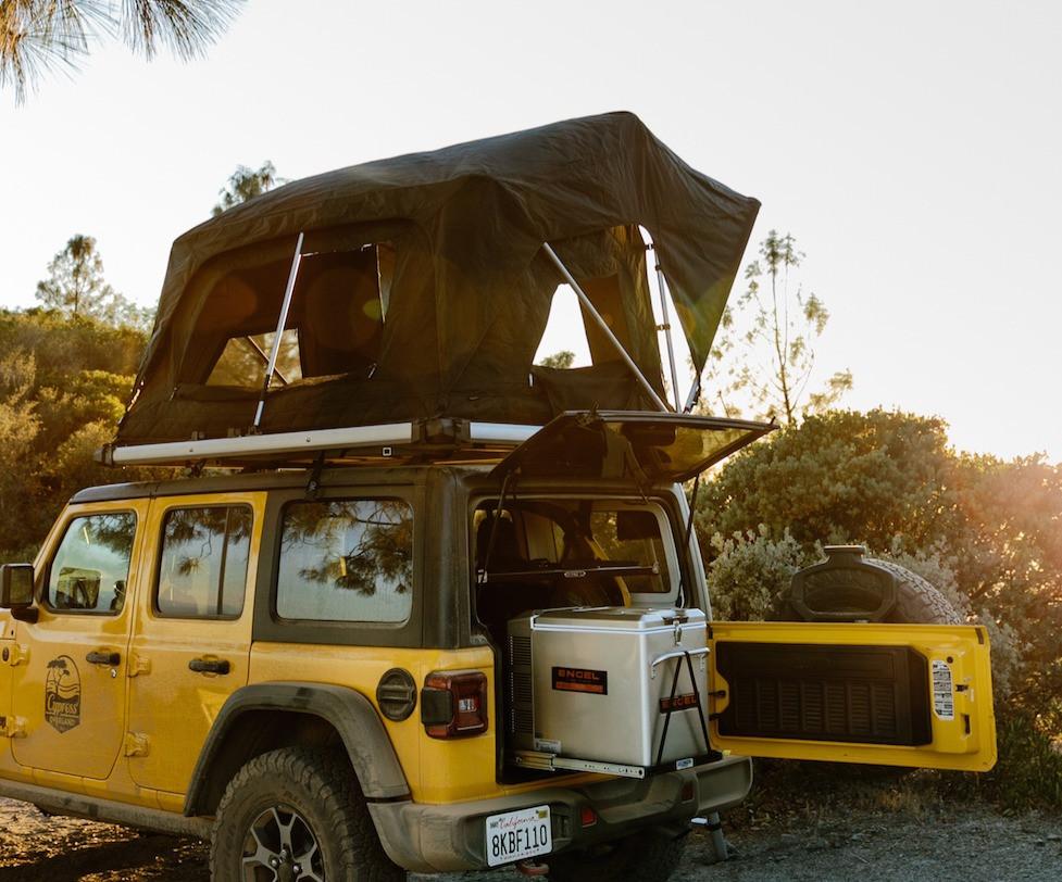 Jeep kitchen