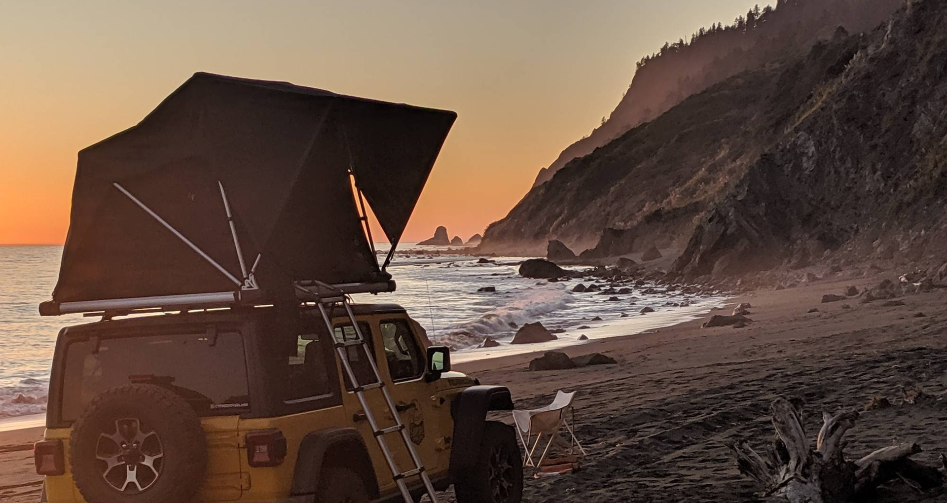 Jeep Rubicon Overland Tent