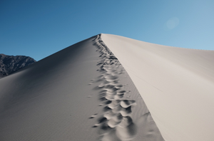 Eureka Dunes overlanding and dispersed camping